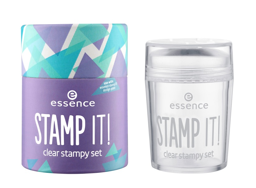 essence stamp it! clear stampy set