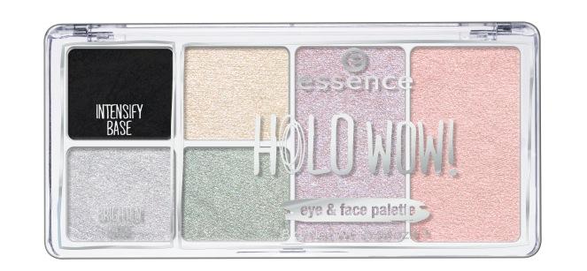essence holo wow! eye&face palette